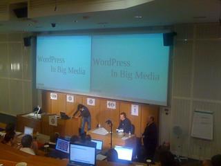 WordPress in Big Media with @davecoveney