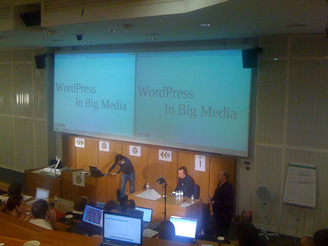 WordPress in Big Media with @davecoveney