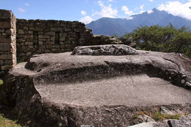Granite Stone Machu Picchu : Sacred stone inca trail flickr photo sharing