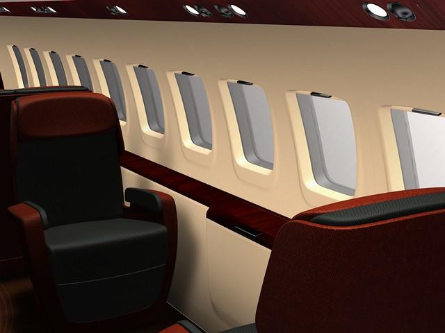 Aircraft interior design flickr photo sharing for Aircraft interior designs
