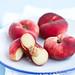 White Saturn peaches by °La ciliegina°