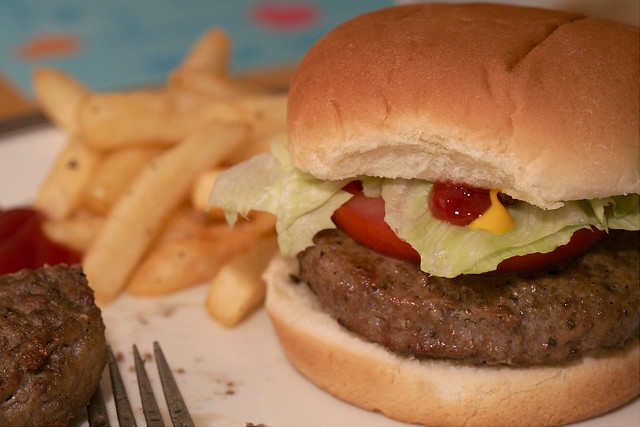 Homestyle Burger Flickr Photo Sharing