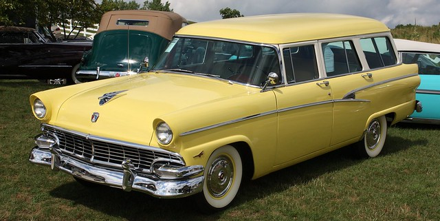 1956 ford country sedan 4 door wagon flickr photo sharing for 1956 ford 4 door