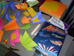 Paper Paper Airplane 1 Photos | Klutz Book of Paper Airplanes and letter size Xe