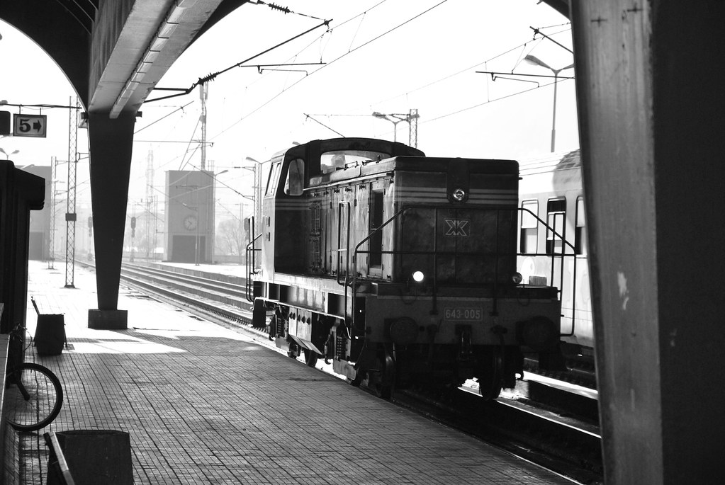 Vieja locomotora