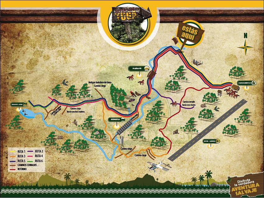 Mapa Hacienda Napoles