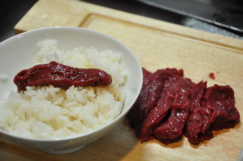 Horse meat is an expensive delicasy in Japan