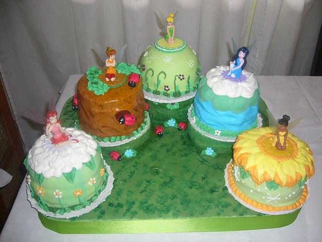 Tortas de campanita y sus amigas - Imagui