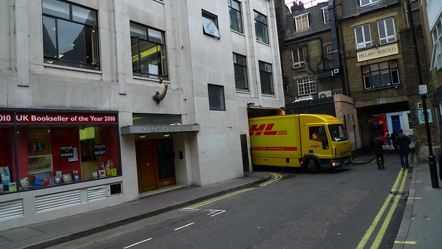 Goldbeaters House and DHL