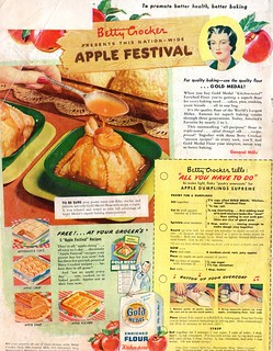 Betty Crocker PRESENTS THIS NATION-WIDE APPLE FESTIVAL | by spuzzlightyeartoo