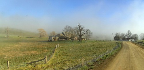 Cold morning near Rockley