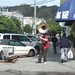Small photo of Busking with a tuba