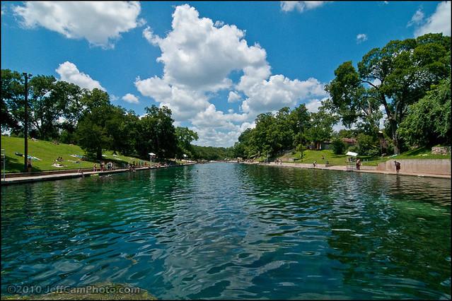 Barton Springs Pool Austin Texas 2010 Jeff Campbell P Flickr Photo Sharing