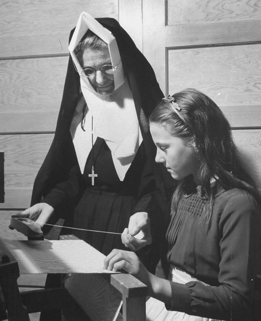 Sister Of The Congregation Of Notre Dame Teaching Class
