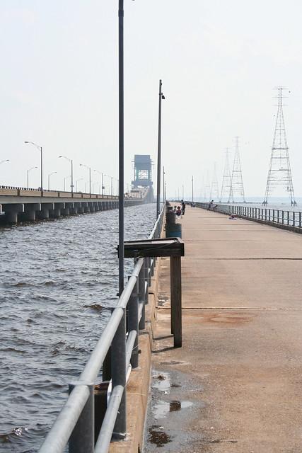 James river bridge fishing pier flickr photo sharing for Fishing piers near me