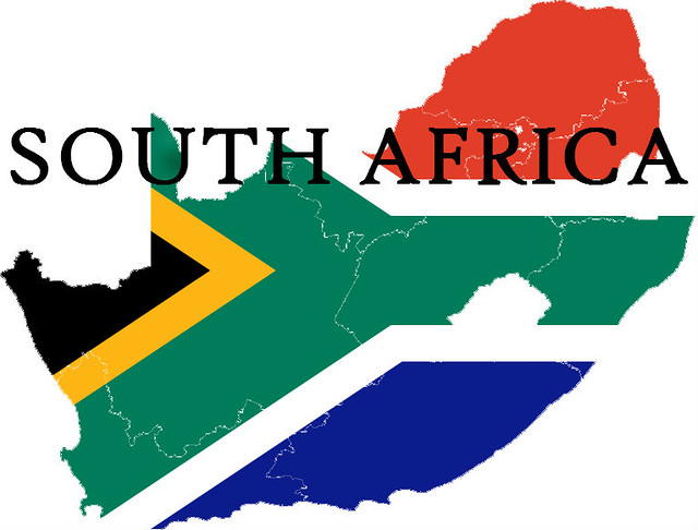 SOUTH AFRICA FLAG MAP | Flickr - Photo Sharing!
