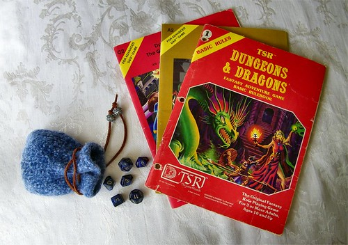 Original Dungeons and Dragons Basic Rule Book - 1981