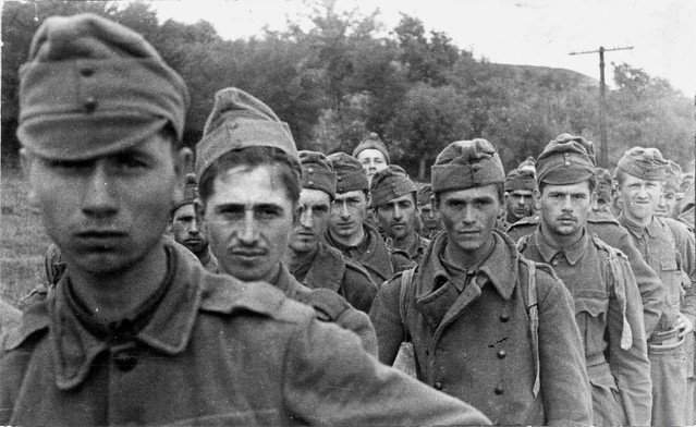 Hungarian prisoners captured on their way to Stalingrad in 1942 (German allies)