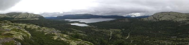 het grote meer Furusjøen