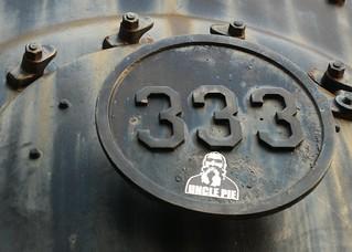 Uncle Pie Rides the 333