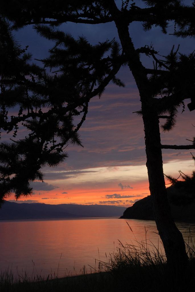 Russie: Sibérie, lac Baïkal