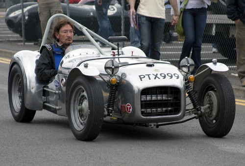 Chris Rea in his rare 1955 Lotus 6