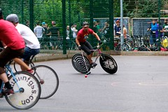 vehicle, sports, race, cycle polo, cycle sport, hardcourt bike polo, cycling, bicycle,