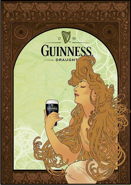 Guinness-mucha