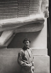 Jacob Epstein 1911, by E.O. Hoppe