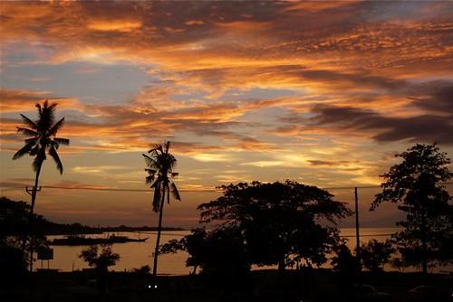 sunset sea sky evening asia laut palm promenade timor leste easttimor dili matahari timorleste sekitar terbenam earthasia osttimor