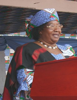 Malawi - Many hoped Vice President Joyce Banda would be the country's first female president in 2014. Credit: Claire Ngozo/IPS