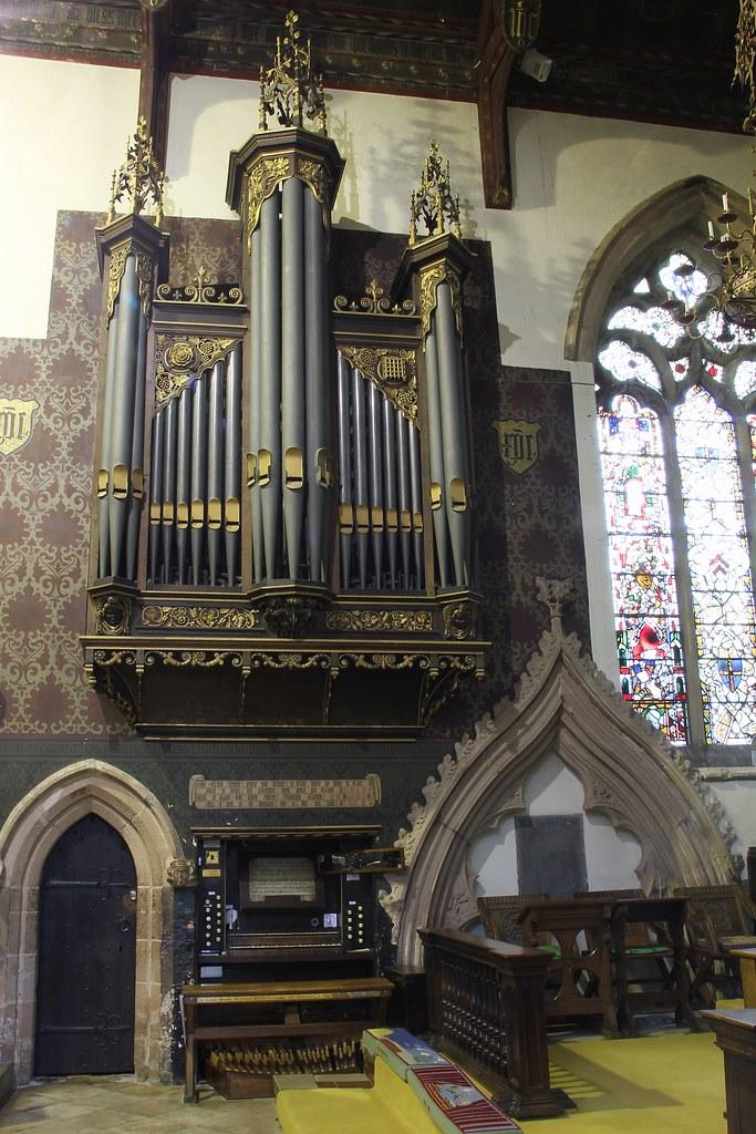 The Organ of St Mark's Church Bilton, Warwickshire