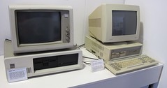 IBM PC XT and Amstrad PC1512