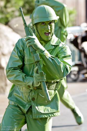 Green Disney Characters Green Army Man ...