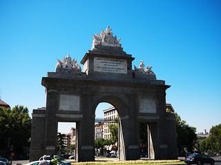 Imagem de Puerta de Toledo perto de Provincia de Madrid. madrid lumix gf1 20mmf17