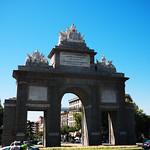 Image of Puerta de Toledo. madrid lumix gf1 20mmf17