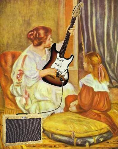 guitare lesson