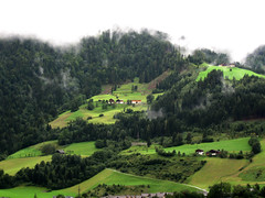 farm, field, mountain, plain, hill, hill station, highland, green, meadow, landscape, jungle, aerial photography, pasture, rural area, grassland, plantation, mountainous landforms,