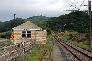 Old Railway Station, Mangapehi, Waikato, New Zealand