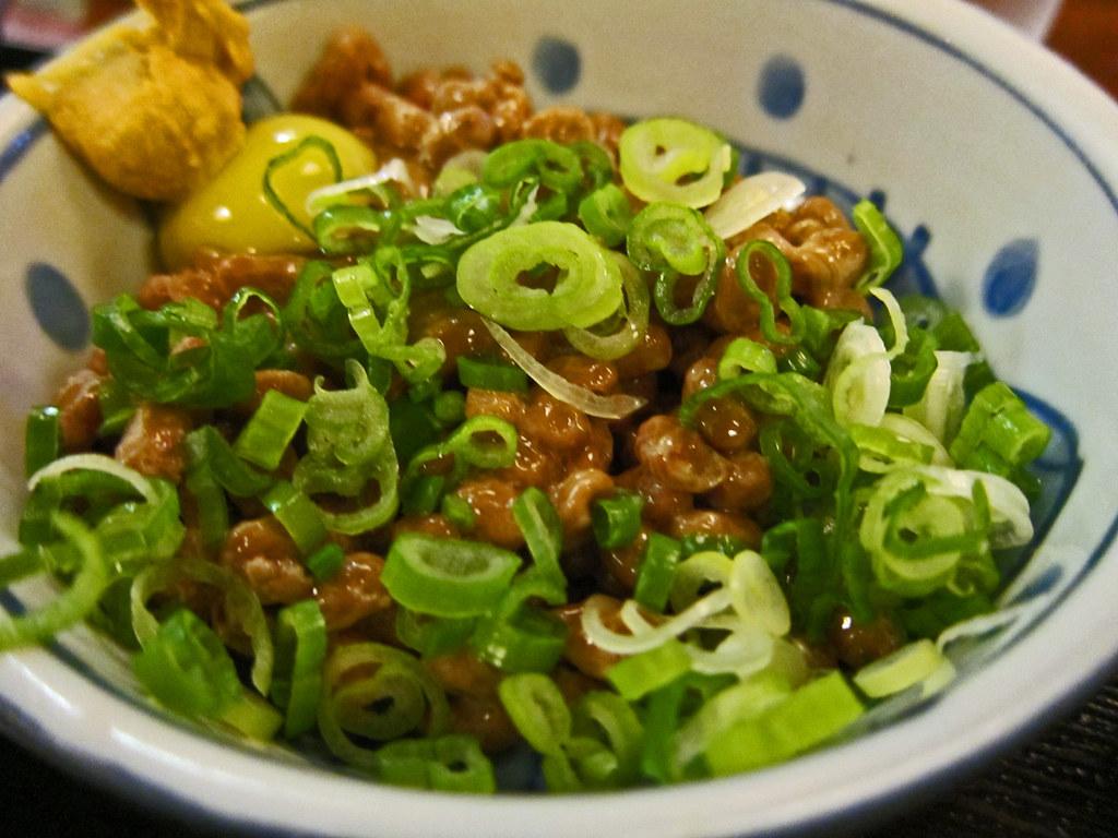 Fukagawa Soba and Udon: Natto