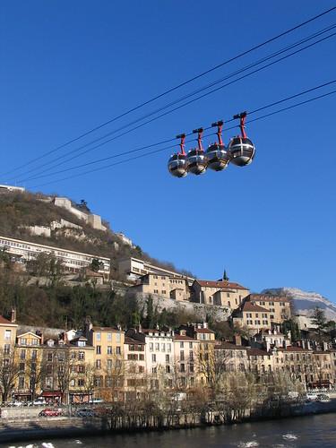 Téléphérique de Grenoble Bastille
