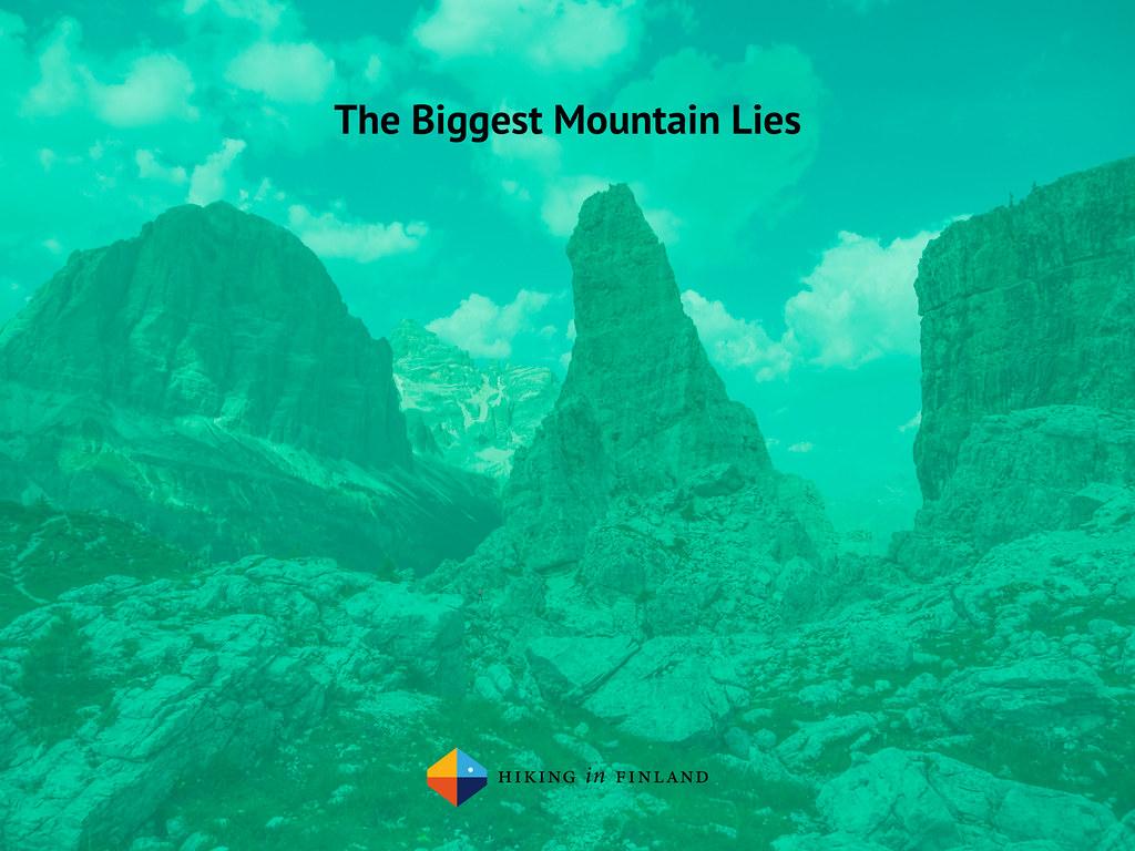 #MountainLies