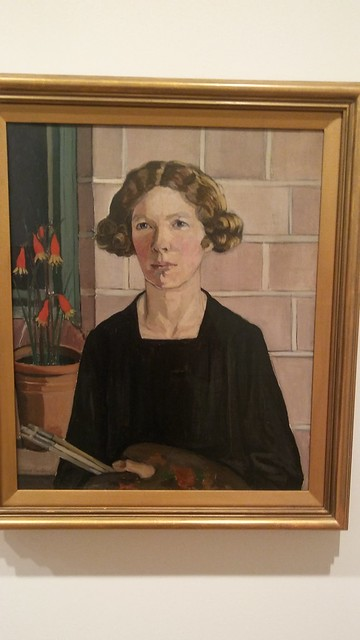 Margaret Preston Self Portrait 1930