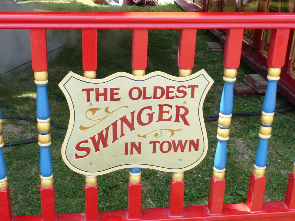Very In oldest swinger town congratulate