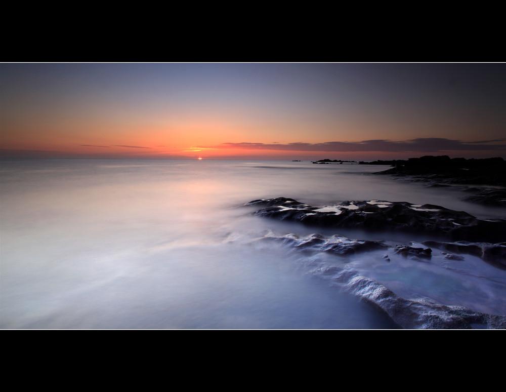 Saltlakes Sunrise Babbet Ness