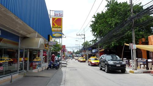Koh Samui chaweng beach road サムイ島 チャウエンビーチロード1