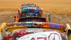 A Different View of the Cadillac Ranch