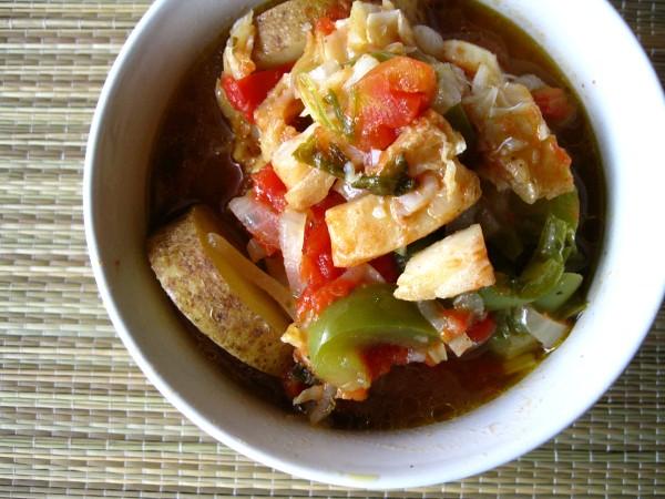 Caldeirada de bacalhau portuguese cod fish stew more for Cod fish stew