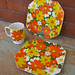 3 Piece 70s Dish Set