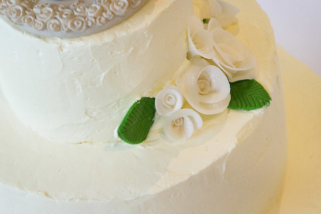 Swiss Meringue Buttercream Wedding Cake | Flickr - Photo Sharing!
